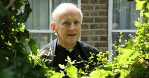 James in the garden